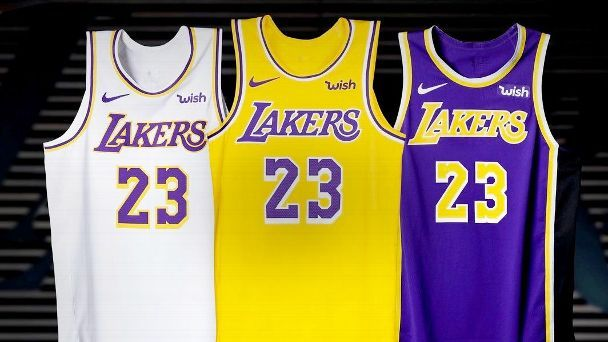 new lakers unis